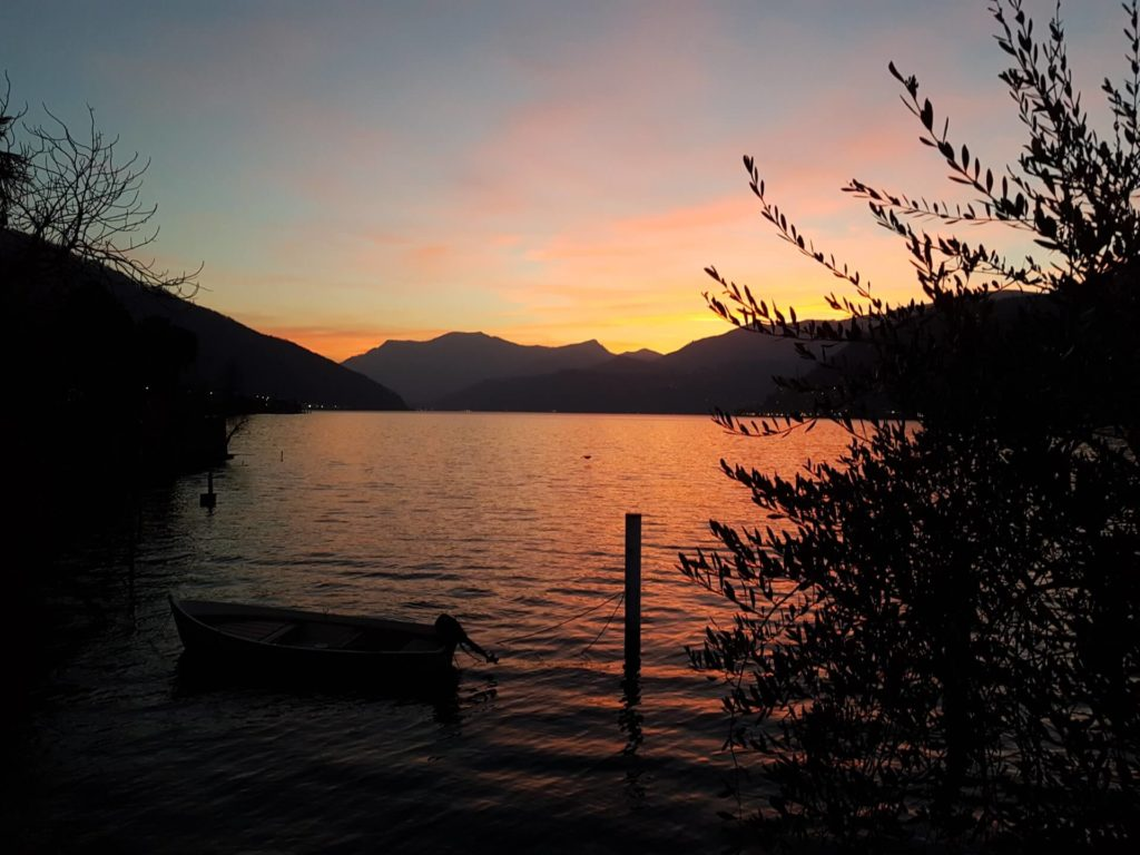 Dolceresio Lugano Lake B&B, Brusino Arsizio - Galerie - Sunset Febbraio 2020